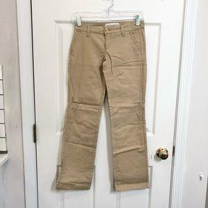 NWOT Aeropostale Stretch Khaki Pants 00 Regular
